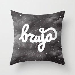 La Bruja Vibes Throw Pillow
