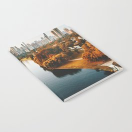 chicago aerial view Notebook