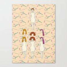 hair style Canvas Print