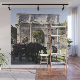 Arch of Constantine in Modern Times Wall Mural