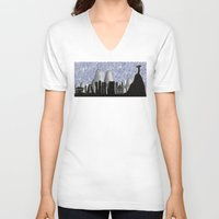 rio V-neck T-shirts featuring Rio by siloto
