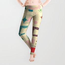 Atomic pattern Leggings