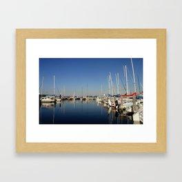 Bay of Paynesville Framed Art Print