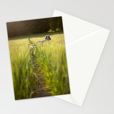 Brown Roan Italian Spinone Stationery Cards