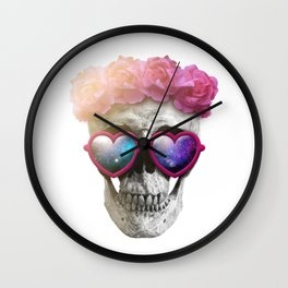 "Mortem in Gloria ""Yazz"" Wall Clock"
