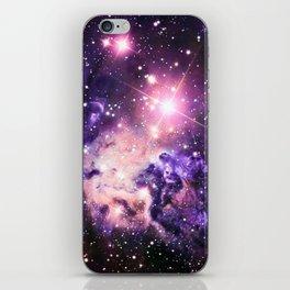 Fox Fur Nebula : Pink Purple Galaxy iPhone Skin