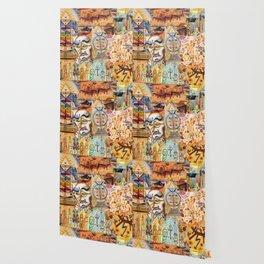 Xul Solar collage Wallpaper
