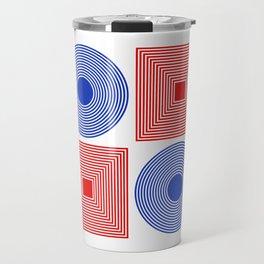 Circle Square Travel Mug