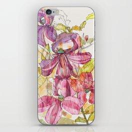 Goodenia Floral iPhone Skin