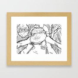 Inspector Bill Framed Art Print