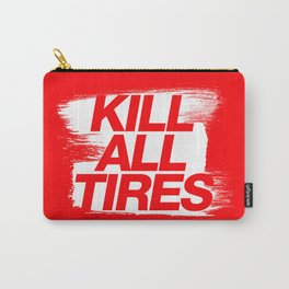 Kill All Tires v1 HQvector Carry-All Pouch