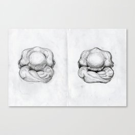 Weeping Buddha Canvas Print