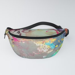 Spectrum Rainbow Alcohol Ink Fanny Pack