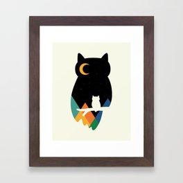 Eye On Owl Framed Art Print