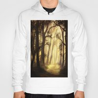 forrest Hoodies featuring The forrest by Richard Eijkenbroek