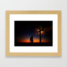 Christian Faith Framed Art Print