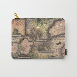 Honey Bee canvas collage Carry-All Pouch