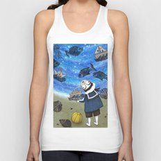 Day on the Beach Unisex Tank Top