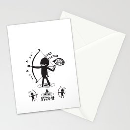 SORRY I MUST LIVE - DUEL 2 VER B ULTIMATE WEAPON ARROW  Stationery Cards
