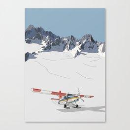 Tasman Glacier, New Zealand Canvas Print
