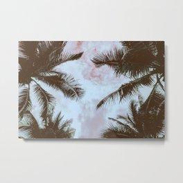 Vintage Palms Metal Print