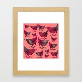 DIVINE BIRDS Framed Art Print