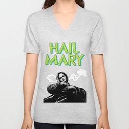 Hail Mary Unisex V-Neck