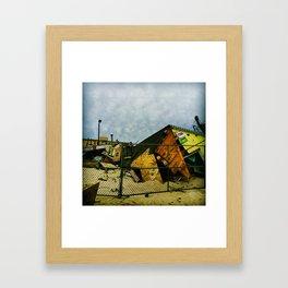 Restore the Shore Framed Art Print