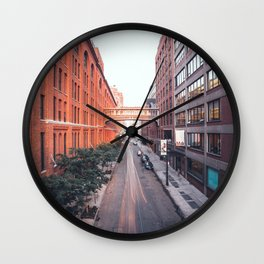 The Highline street Wall Clock