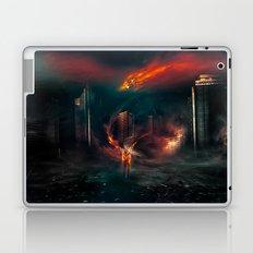 city on fire Laptop & iPad Skin