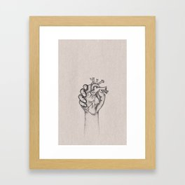 Fix your hearts or die Framed Art Print