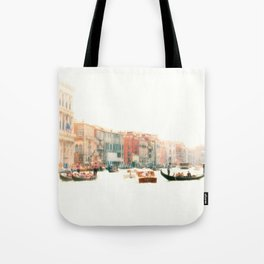 Venice, Italy Surreal Grand Canal Tote Bag