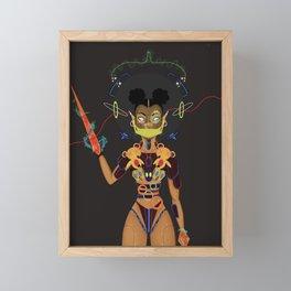 Teddy War Framed Mini Art Print