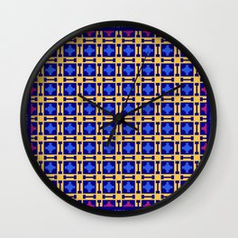 """Christmas lights"" series #8 Wall Clock"