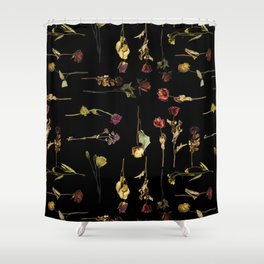 Funeral Singers Shower Curtain