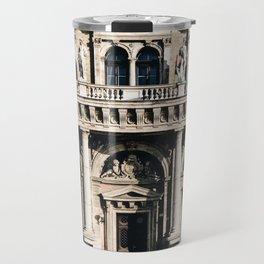 Stunning Symmetrical Classic Budapest Facade Travel Mug