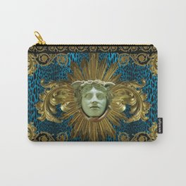 Grand Baroque Panel Carry-All Pouch