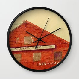 Lawn and Garden Shop, Norway, ME Wall Clock