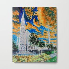 Boise Idaho LDS Temple Metal Print