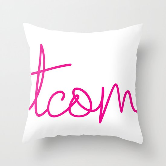 #TCOM Throw Pillow