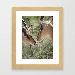 Care Framed Art Print