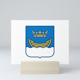 Flag of Helsinki Mini Art Print
