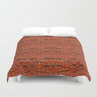 mars Duvet Covers featuring Mars by JDRicker