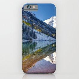 Maroon Bells Colorado Aspen USA iPhone Case