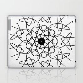 love mandala number 5 - mystery Laptop & iPad Skin