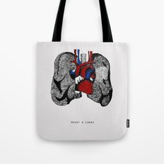 Heart&Lungs Tote Bag