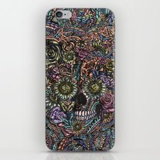 Sensory Overload Skull in Pastels iPhone & iPod Skin