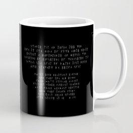 Exorcism Stave Coffee Mug