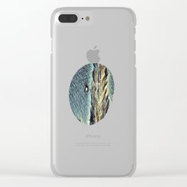 On a Moonlit Morning. Clear iPhone Case