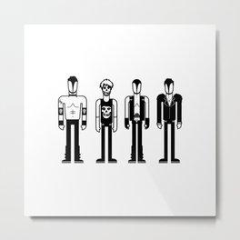Misfits Metal Print